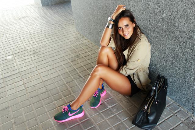 Nike Roshe Purpurina