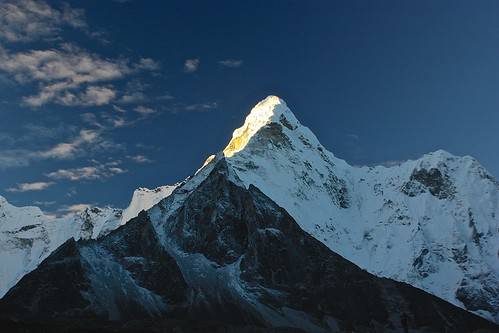 good morning Amadablam