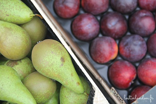 fruits pears plums the london jam factory