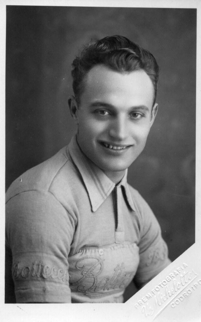 Aldo Zuliani maglia Bottecchia 1953