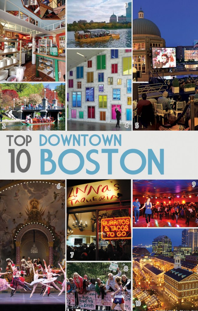 My 10 Favorite Things to Do in Downtown Boston