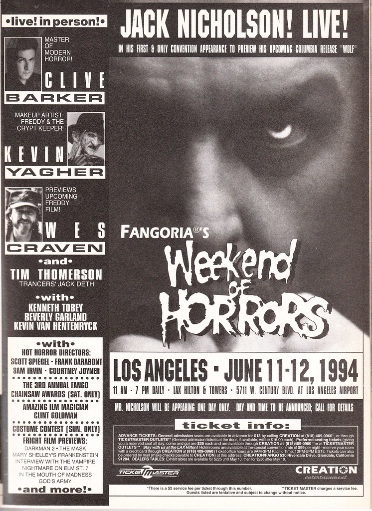 Weekend of Horrors 1994