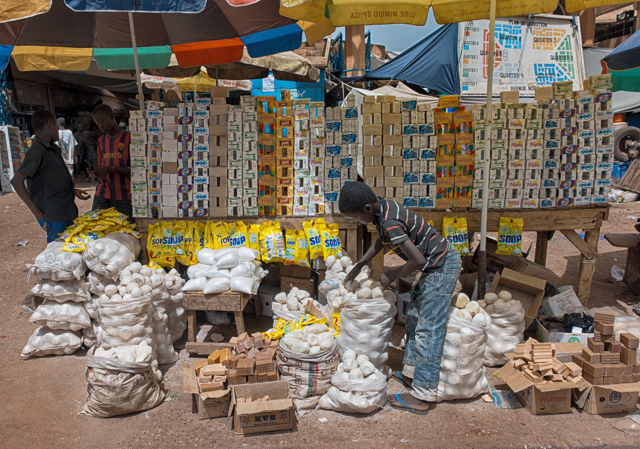Soap Vendor