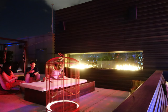 Could this be the al fresco grill at WET Bar, W Taipei?