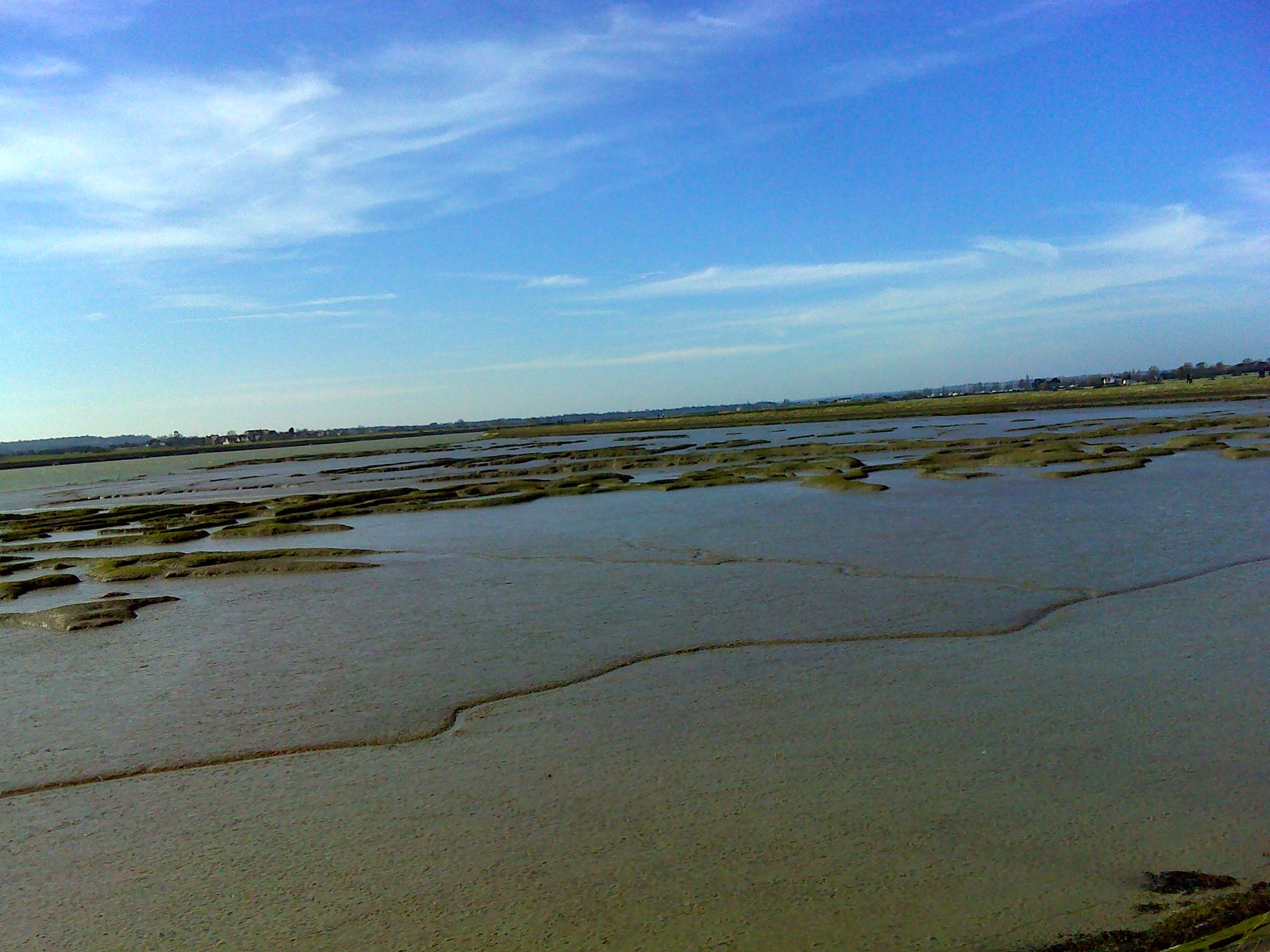 Mudflats SWC Walk 162 North Fambridge to Burnham-on-Crouch Taken by Pia R
