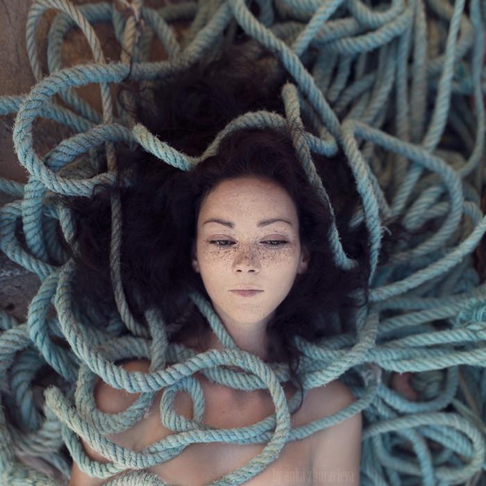 Liza the mermaid