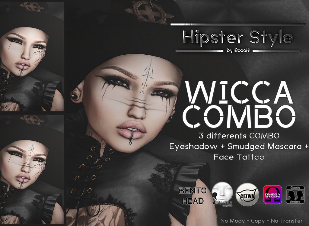 [Hipster Style] Wicca Female COMBO - SecondLifeHub.com