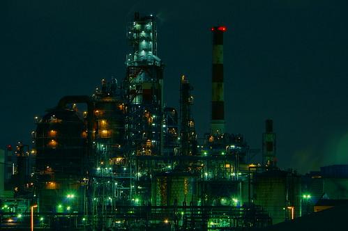 Nightscape at Kawasaki Industrial Zone 32
