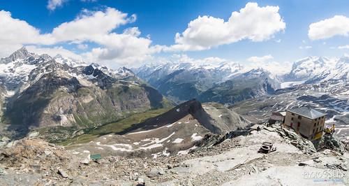 alps alpes switzerland suiza zermatt matterhorn cervino hörnliridge hörnlihut