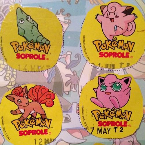 Pokémon - Tapas de Yoghurt Soprole