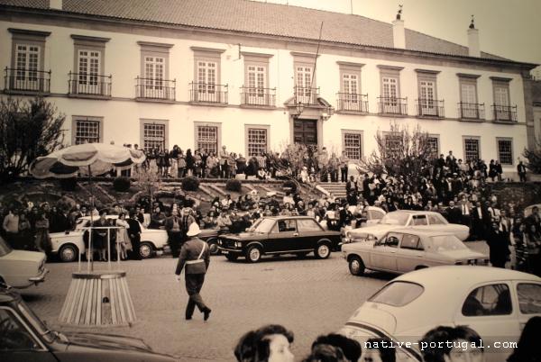 16 - 25 апреля 1974 года - революция гвоздик в Португалии - Каштелу Бранку