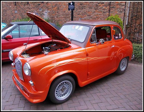 A  British Classic Car ..