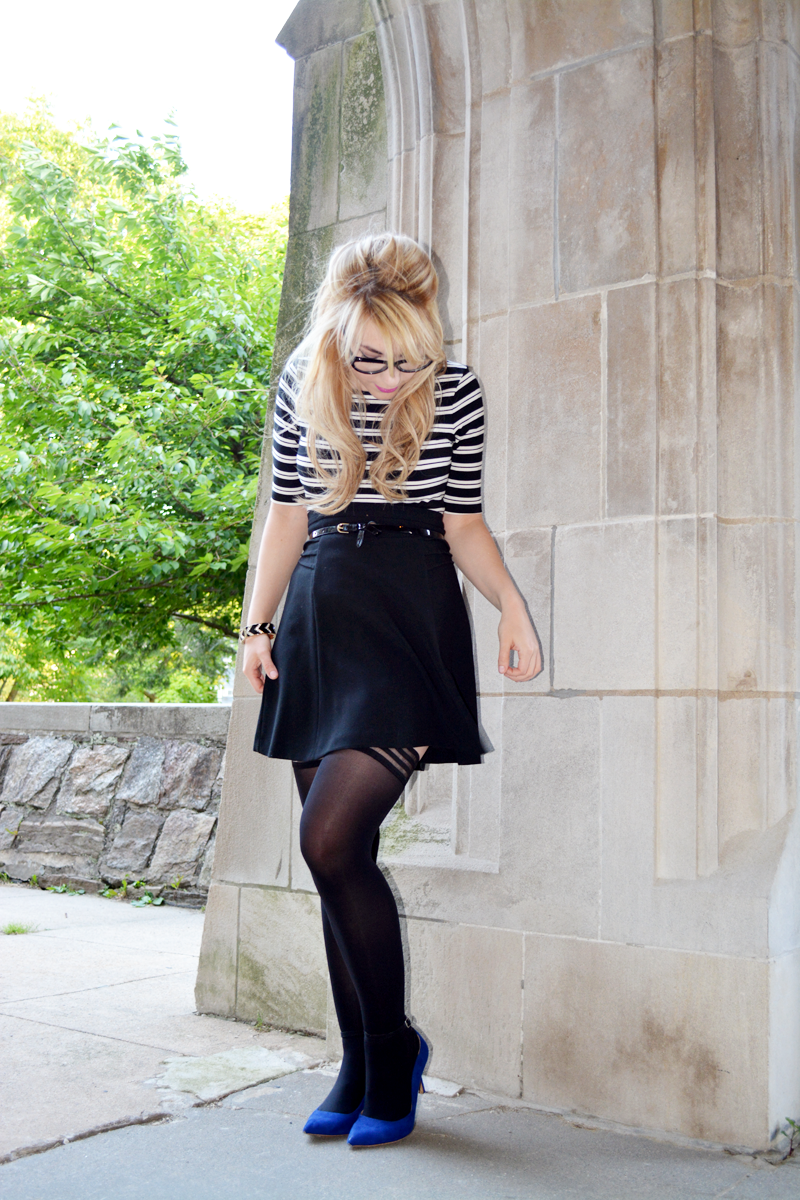 Cat Eyes and Thigh Highs x Vienne Milano