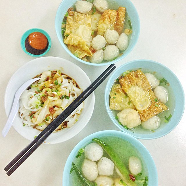 Bee Bee Hiong – good fishballs yong tau foo in Melaka