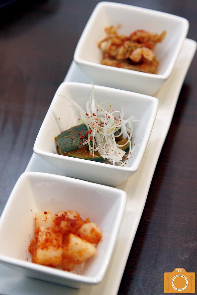 Magosaburo Lunch Set kimchi