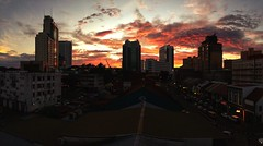 Taken with IP5... Wonderful sunset in the Kuching City