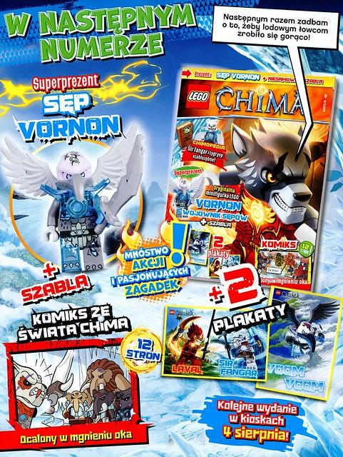 LEGO Legends of Chima Oficjalny Magazyn 2014-07 03