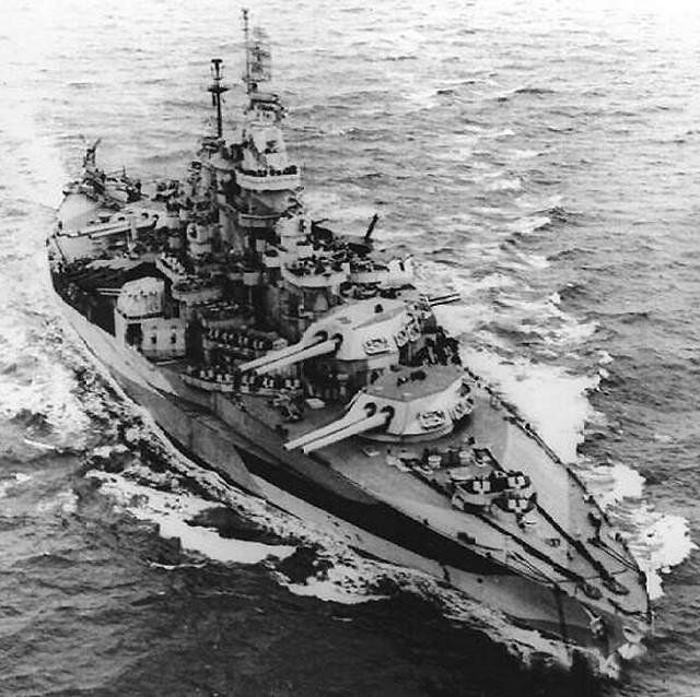 Colorado-classe de cuirassé USS West Virginia