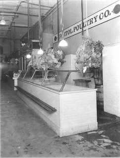 Photograph of a Poultry Stand in Center Market, 04/06/1923