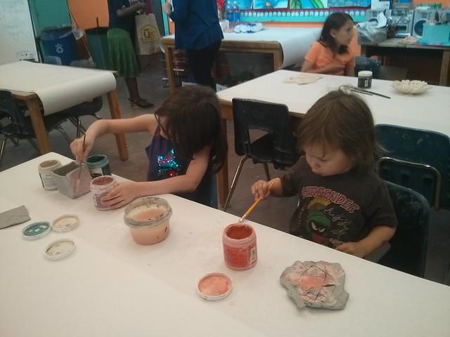 Last pottery class