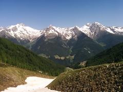 Teilweise liegt noch etwas Schnee, Aufstieg Klaussee und Rauchkofel