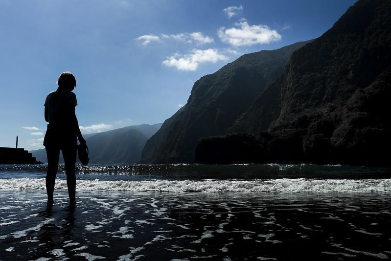 Beach in Seixal - Madeira