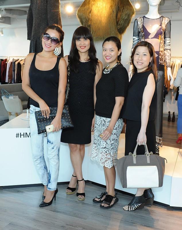 Donna Cuna-Pita, Myrza Sison, Isha Valles and Ianne Evangelista