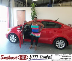 #HappyBirthday to Leona Manning from Danny Sparks at Southwest Kia Dallas!