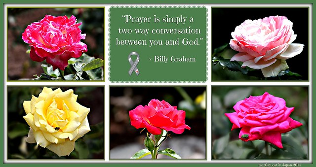 """Prayer is simply a two-way conversation between you and God."""