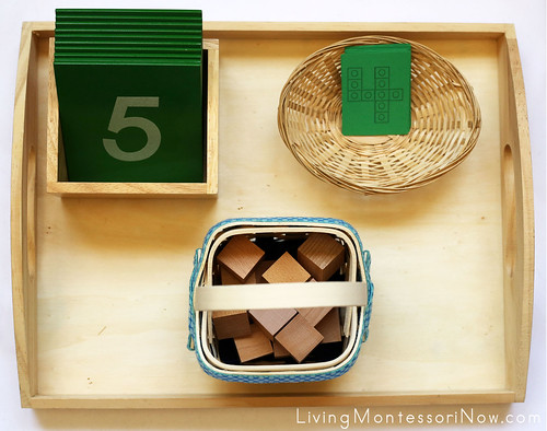 Cube Number Tray