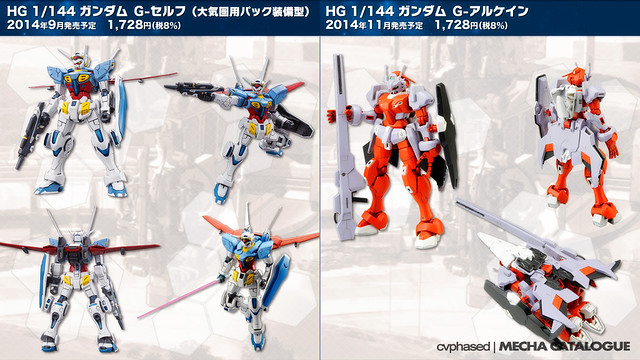 GUNDAM Reconguista in G - Gunpla Reveals