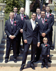 bodyguard(0.0), groom(1.0), people(1.0), man(1.0), person(1.0), ceremony(1.0),