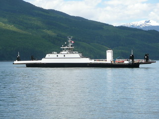 New Upper Arrow Lake ferry