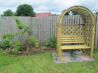 pergola /bench