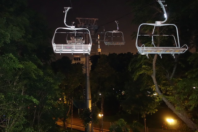 Chairlifts for the Skyride - Skyline Luge Sentosa