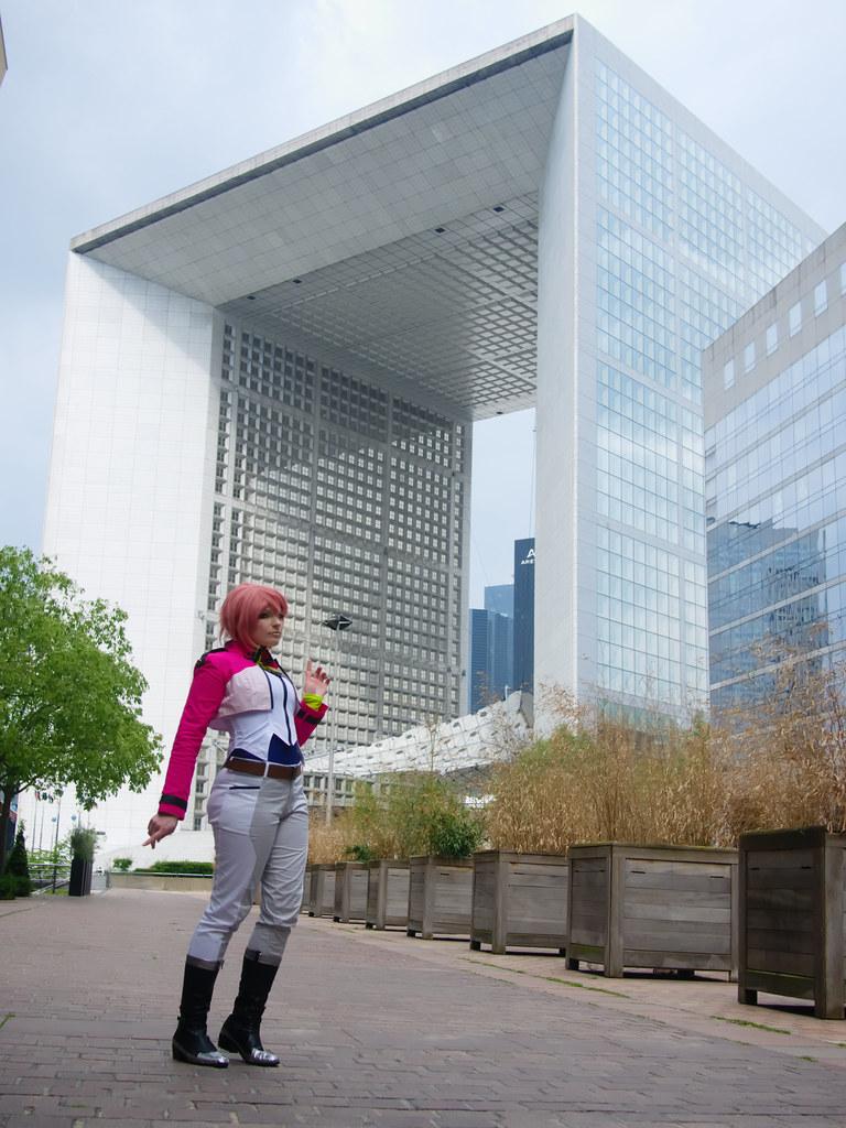related image - Shooting La Défense - Gundam 00 - 2014-06-01- P1870072