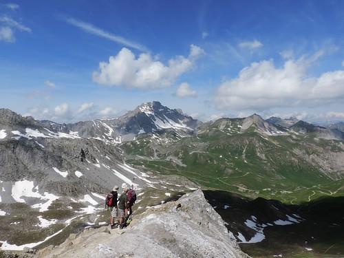 Paysage en montant au Petit Mont Blanc