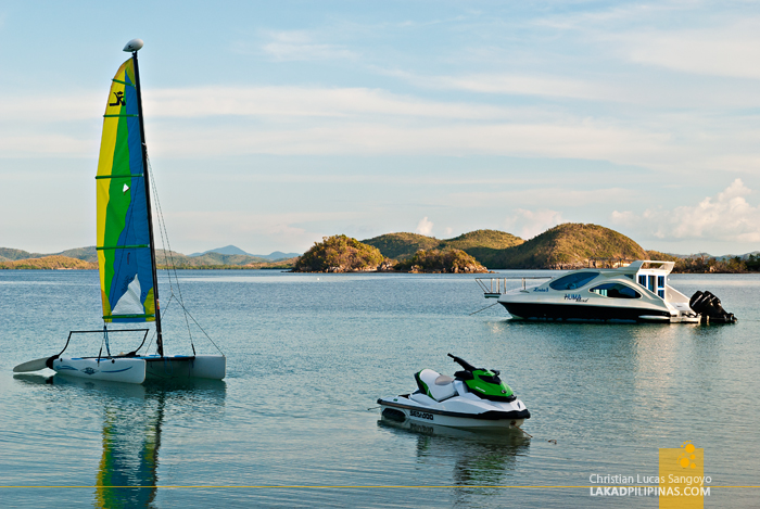 Water Sports at Huma Island Resort & Spa in Palawan