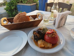 delicious gemista at Tonia's Courtyard IMG_60…