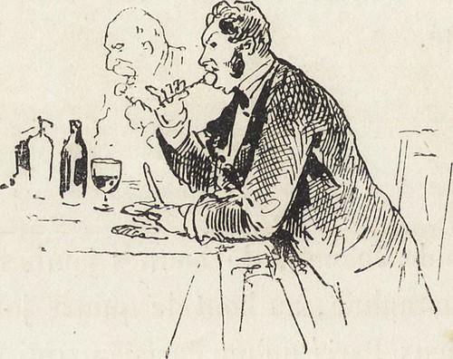 """Image from page 307 of """"La vie hors de chez soi (comédie de notre temps) l'hiver, le printemps, l'été, l'automne; études au crayon et à la plume"""" (1876)"""