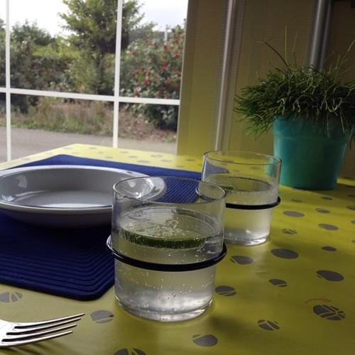 Dag 30: gin tonic in een campingglas, dat smaakt ook #dezomervan2014