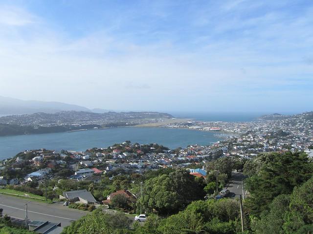 Wellington desde el Monte Victoria