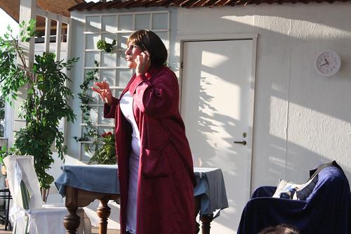 Maddis von Planck avslöjar planerna för väninnan.