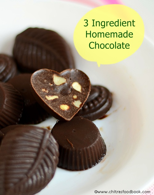EASY HOMEMADE CHOCOLATE RECIPE WITH COCOA POWDER - HOW TO ...