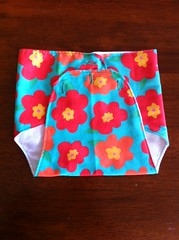 Vintage style diaper cover