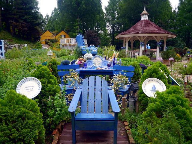 Sitting in the Garden