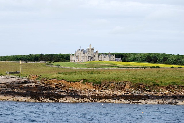 Balfour Castle From The Sea