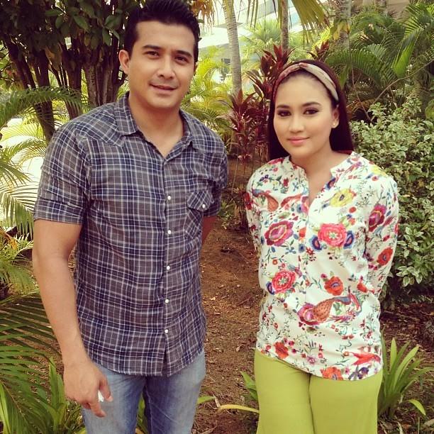 Fasha Sandha dan Aaron Aziz