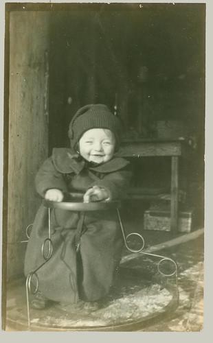 RPPC Small Boy