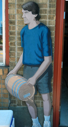 Anacortes Brewery Painting of Brewmaster